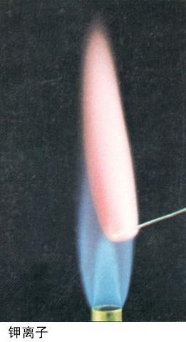 钾盐的焰色反应