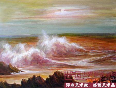 水粉画的性质和技法,与油画和