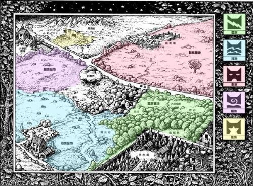 旧森林地图