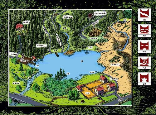 新森林地图