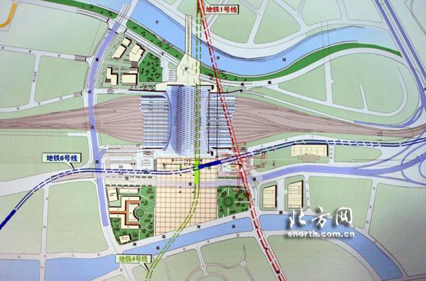 另外,地铁4,6号线规划经过天津西站,使之与地铁1号线于新西站的南广场