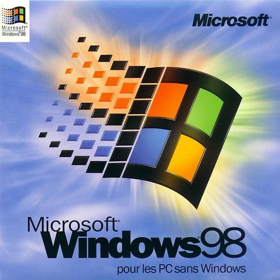 windows 98是一紧密集成的操作系统,它直接进入图形用户界面而不再是图片