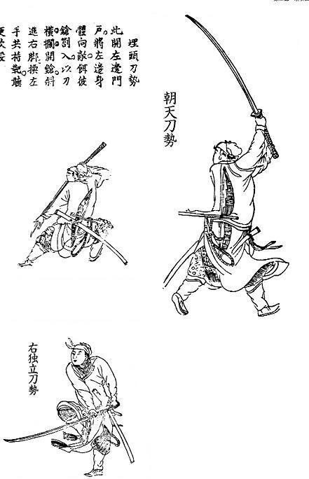手绘  中国古代武器