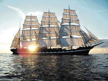 西方帆船设计图