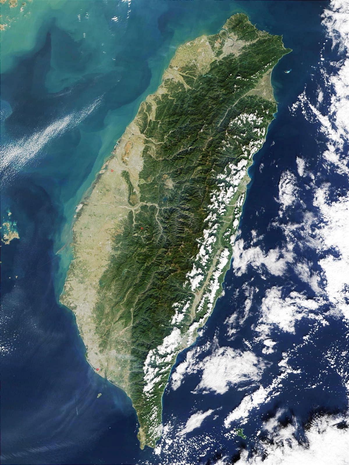 台湾风景矢量图