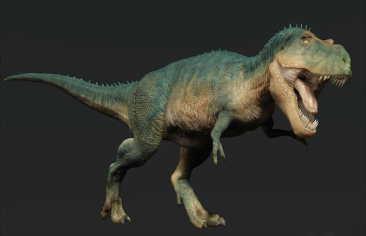 橡皮泥霸王龙恐龙手工制作图片