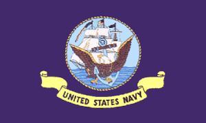 美国海军军旗(室外)