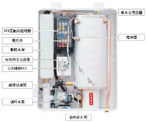 当锅炉运行时,系统中的空气不断从锅炉内的排气阀排出,锅炉的压力就会图片