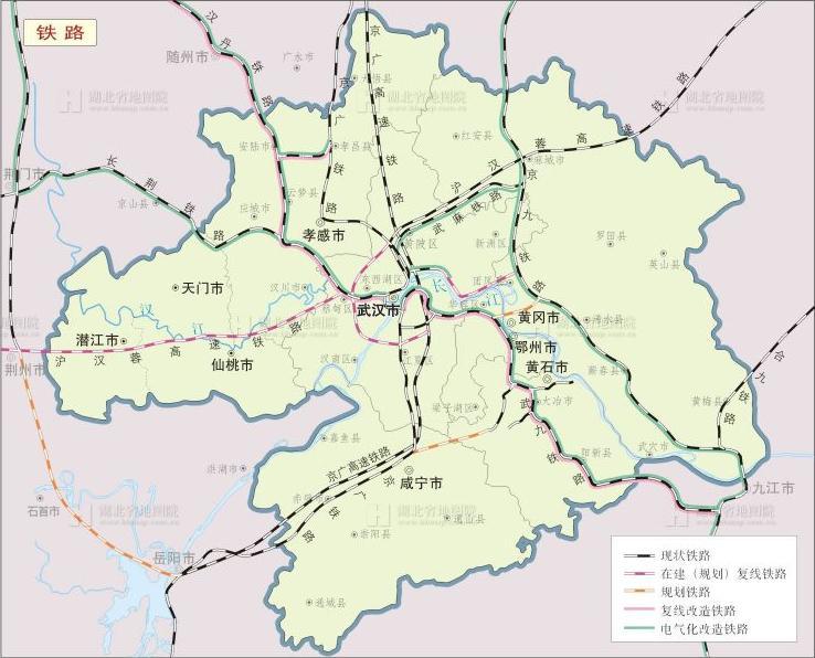 中国城市手绘河南