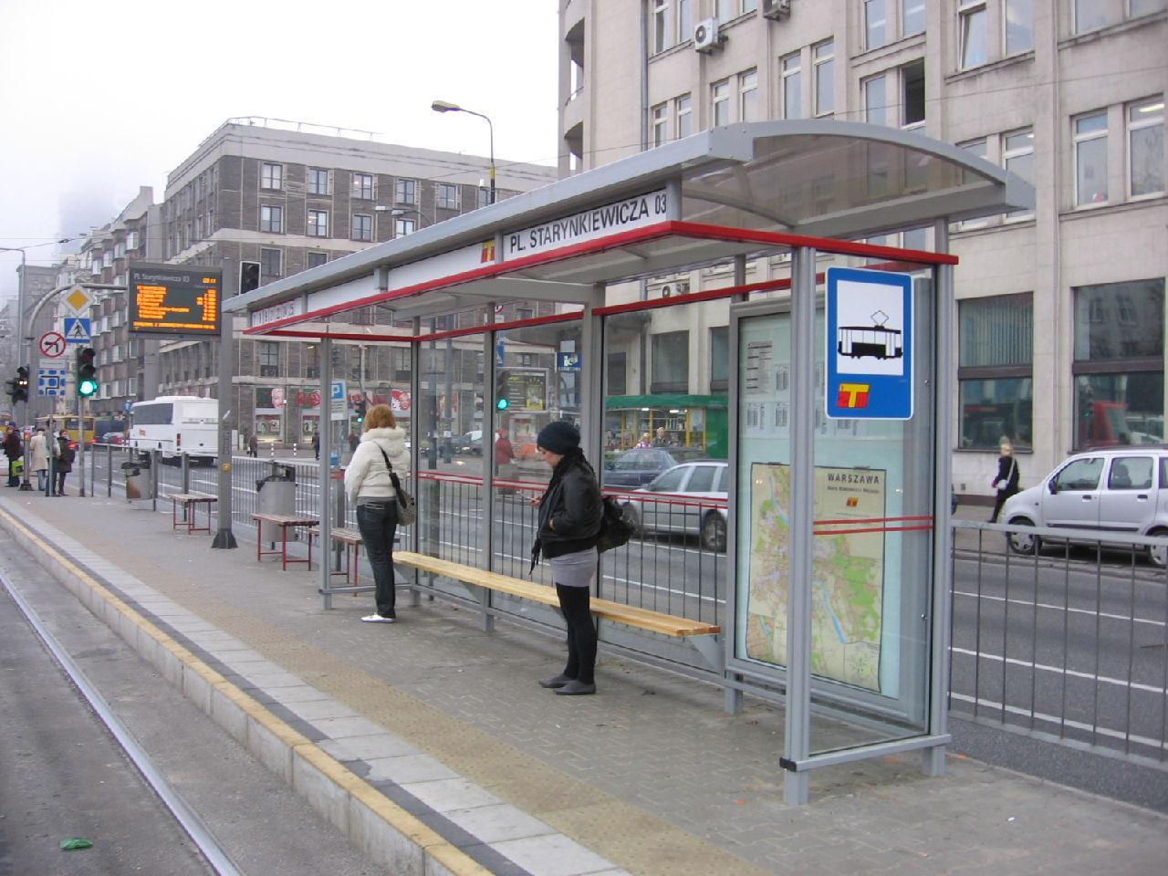 华沙公交车站