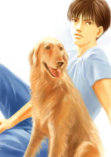 壁纸 动漫 动物 狗 狗狗 卡通 漫画 头像 389_550 竖版 竖屏 手机