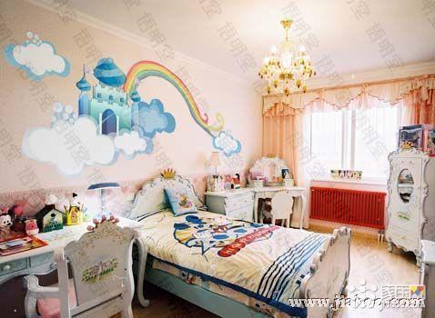 儿童家具手绘图片