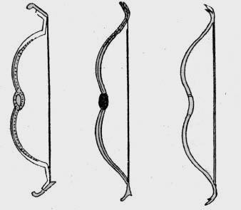 中 弓 字 的 原型 明显 地