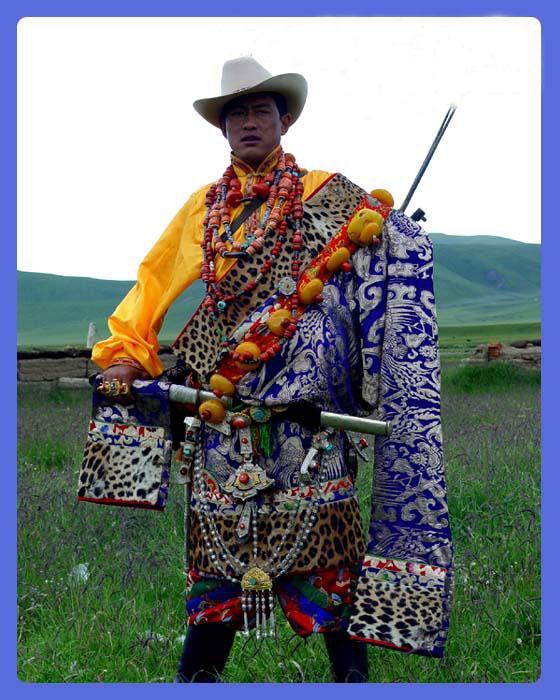 藏族器皿彩色手绘图