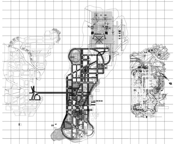 gta3早期地图