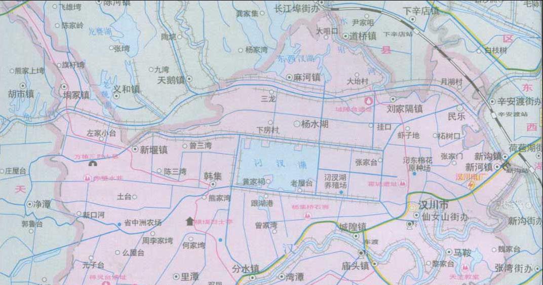 鄂州燕矶飞机场地图