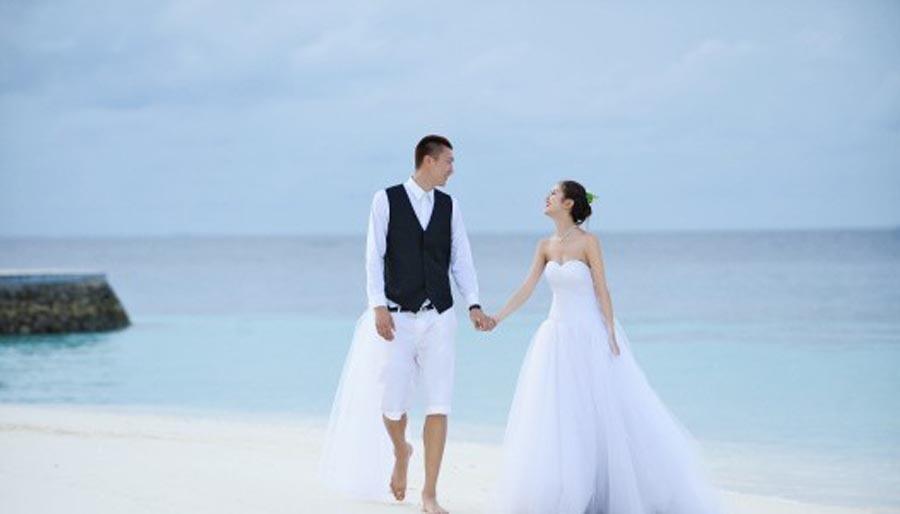 婚纱西装手绘图片