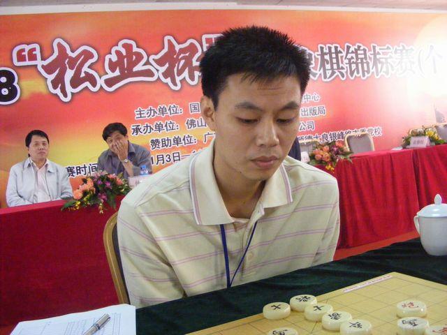 许银川象棋�:-f����,,_中国 许银川 红先和 中国洪智 第十届世界象棋锦标赛中国队派出许银川