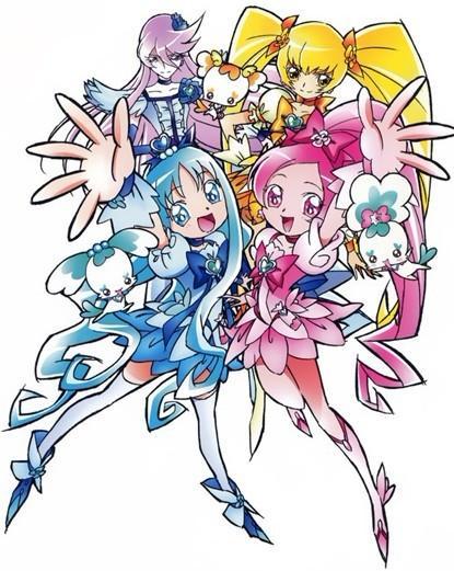 《光之美少女》动画系列第七季,该系列第五次采用了新的人物和舞台.