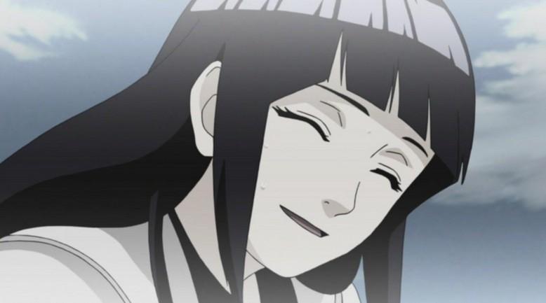 可爱雏田侧脸头像