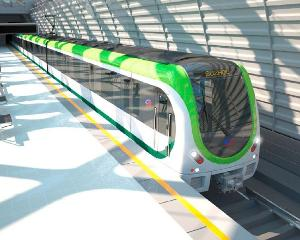 苏州地铁1号线列车采用4节编组的b型车.图片