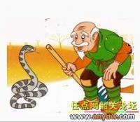 那蛇受了惊吓被吵醒了