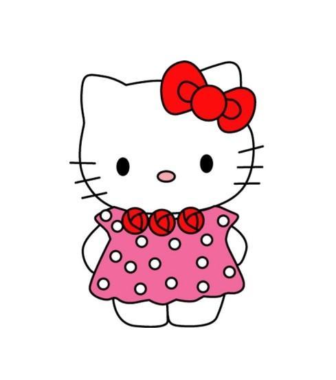 卡通小猫hello