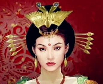 大清皇后手绘图