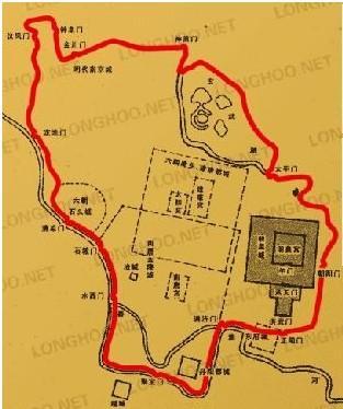 南京明城墙 地图
