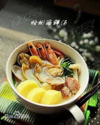 词条已锁定 摘要 青岛特色海鲜汤