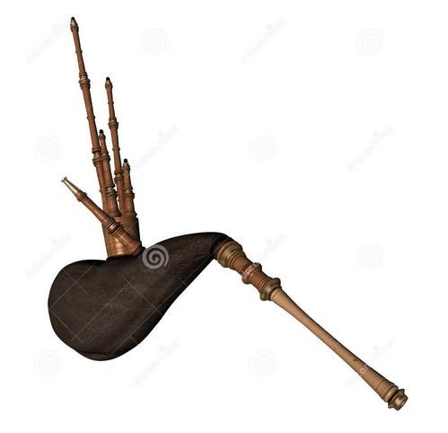 风笛 曲谱 又排键