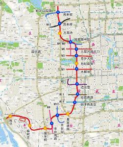 北京地铁16号线线路平面示意图-北京地铁16号线图片