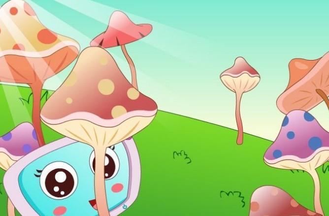 采蘑菇的小姑娘(经典儿童歌曲)