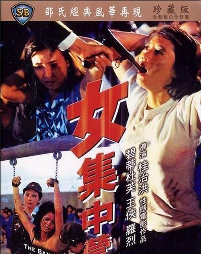 日本十大色禁播电影_女集中营电影海报