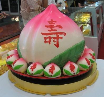 幼儿园手工制作寿桃