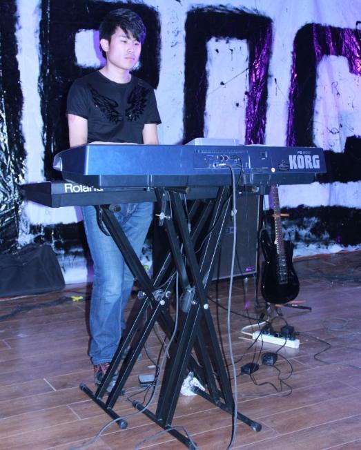 乐队键盘手绘图