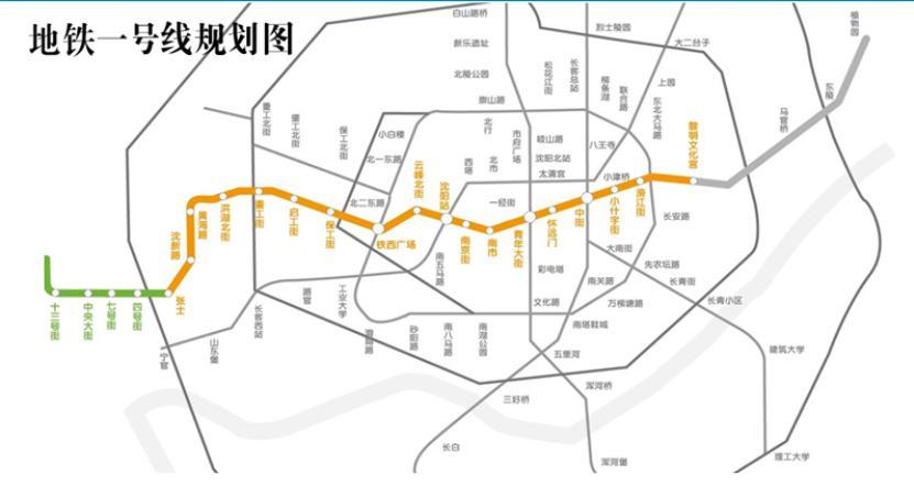 沈阳地铁一号线