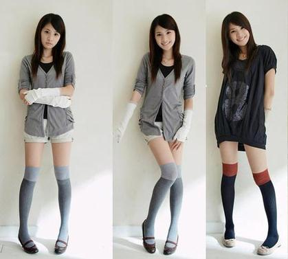 女生冬季穿着搭配图片