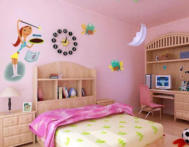 彩绘图片 宝宝卧室