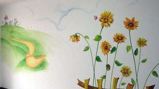 墙体手绘艺术的流行源于法国,当年许多艺术家或画家喜欢在建筑墙体