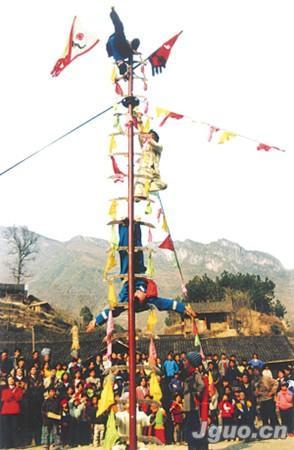 历史版本                        苗族刀梯,上刀梯是苗族人民的传统