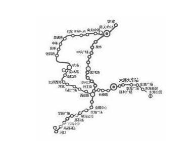 大连地铁线路图-大连地铁 搜狗百科图片
