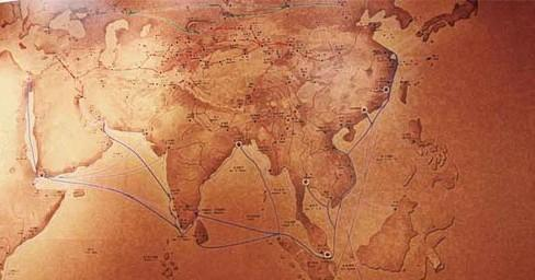 关于丝绸手绘图