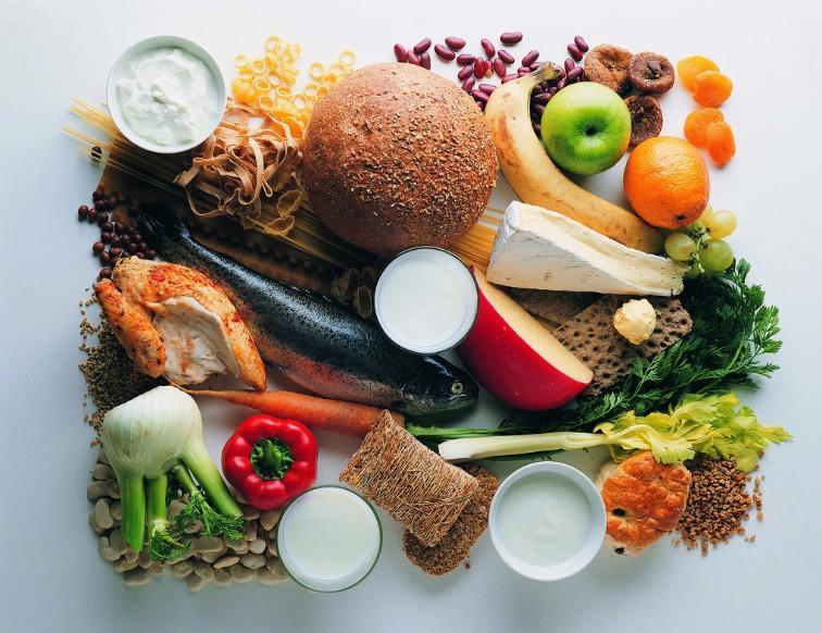 要健康 营养要均衡 食物要丰富