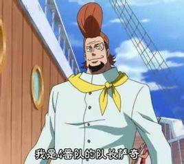 萨奇 日本动漫 海贼王 中人物