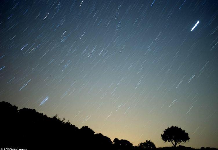 英仙座流星雨