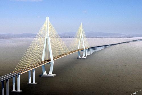 舟山跨海大桥图片