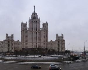 列斯大林式建筑风格建筑群图片
