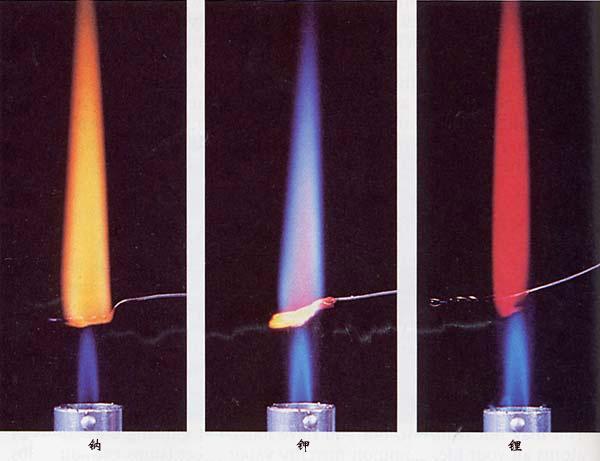 焰色反应,也称作焰色测试及焰色试验