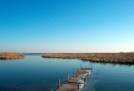 哈萨克斯坦查干湖